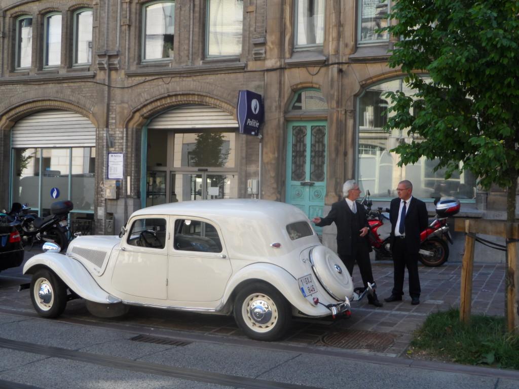 Citroën Traction Avant - voorwielaandrijving