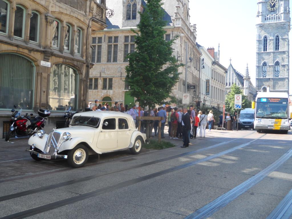 Belfortstraat - Citroën Traction Avant
