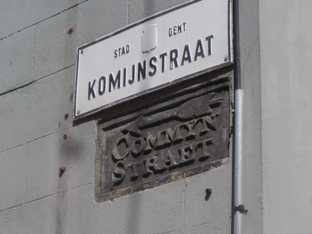 Komijnstraat ofte Commeynstraet
