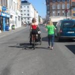 16 Overpoortstraat - oude bakfiets (2)