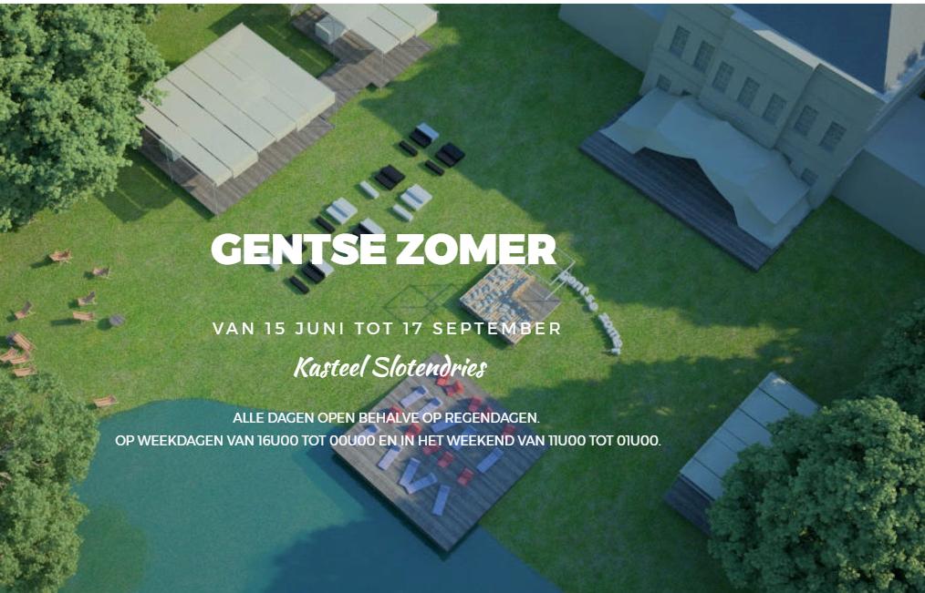 'Gentse Zomer' in Slotendries heeft niets met ons te maken