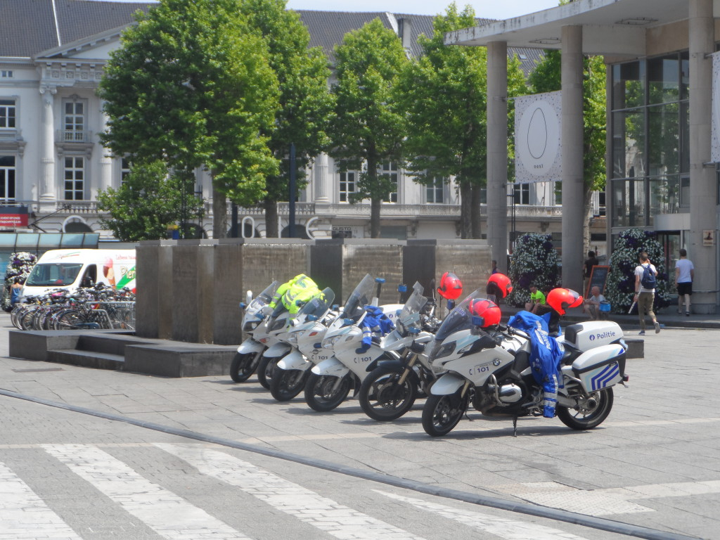Woodrow Wilsonplein - politie controle