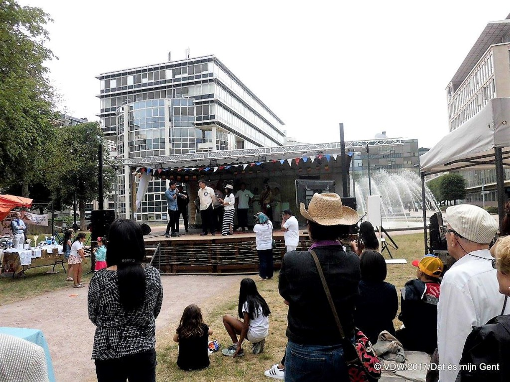 Koning Albertpark - Op zaterdag - pic VD William, facebookgroep 'da ès mijn gent'