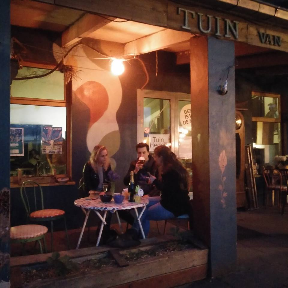 Chalet avondterrras - pic Tuin van Heden