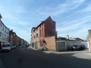 Drongensesteenweg - buurt Schrijnwerkersstraat en Kokerstraat