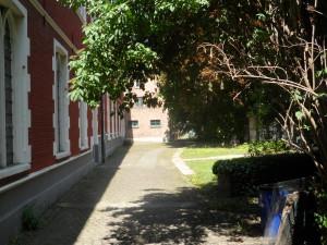 Hoogstraat - Voormalig Dominicanenklooster - nu Faculteit Architectuur KU Leuven Campus Sint-Lucas Gent