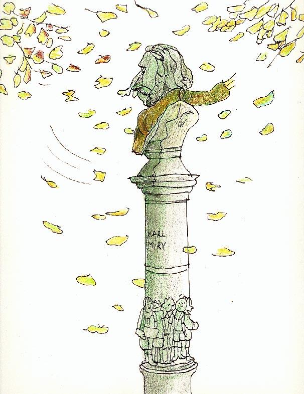 """De """"koude kleren"""" van Hippoliet Miry – cartoon Geert Clarisse"""