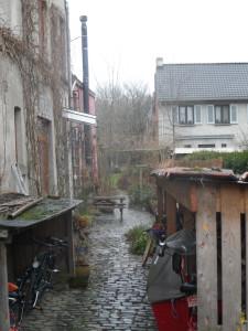 Nekkersputstraat - zijstraatje - buurt Rooigem
