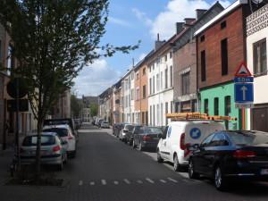 Puinstraat - buurt Sint-Baafsabdij en voormalig slachthuis