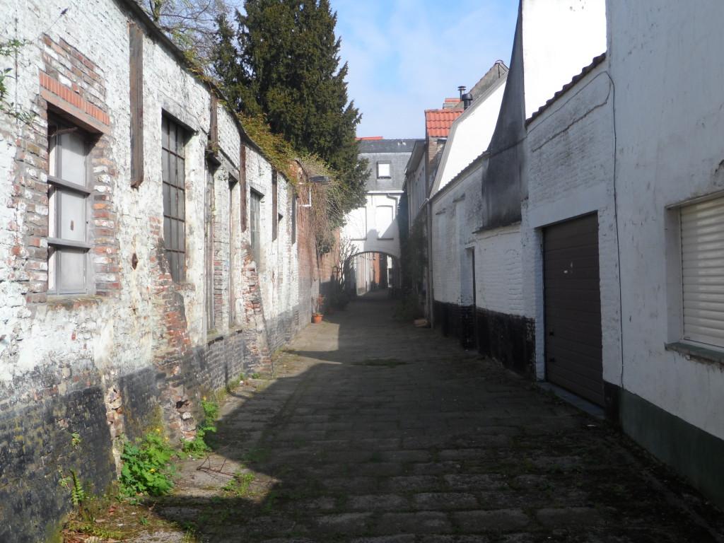 Turrepoortsteeg - zijstraat van de Poel-Hoogstraat