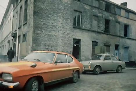 Ford Capri en Volkswagen 1500