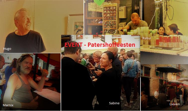 Patershol: Hugo, Lieven, Marnix, Sabine en Resul…