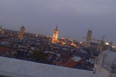 STAD - 24/24 city cam over Gent