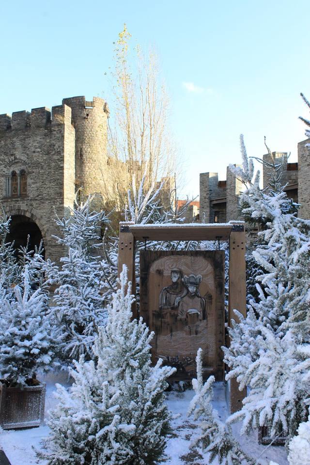 Gravensteen - Winterwonderkasteel - pic Historische Huizen (1)