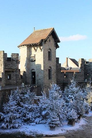 Gravensteen - Winterwonderkasteel - pic Historische Huizen (2)