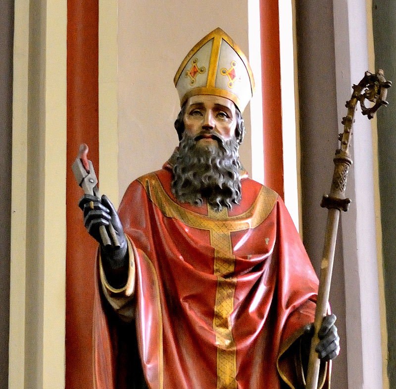 Een valse heilige in Ledebergkerk