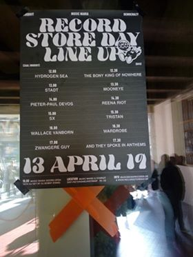 Sint-Pietersnieuwstraat - Free Record Shop happening Record Store Day