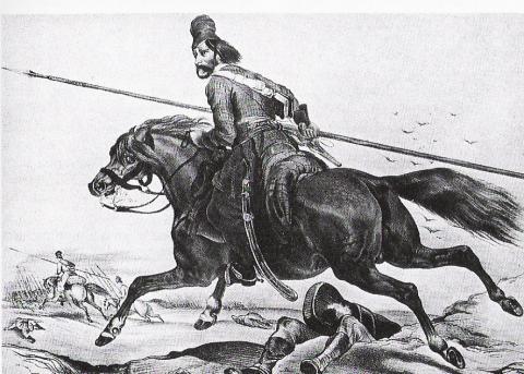 Kozakken bezorgden Gentenaars bange maanden