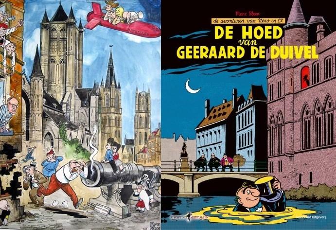 Gent in het stripverhaal