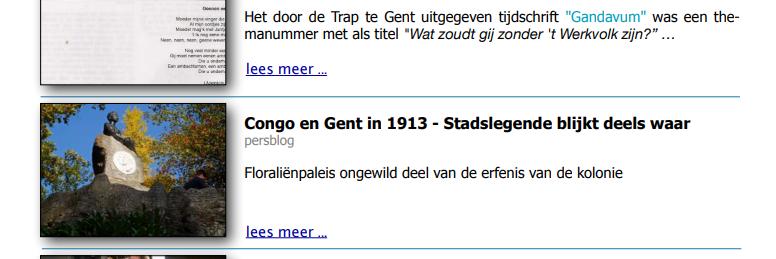 Congo en Gent in 1913; Stadslegende blijkt deels waar