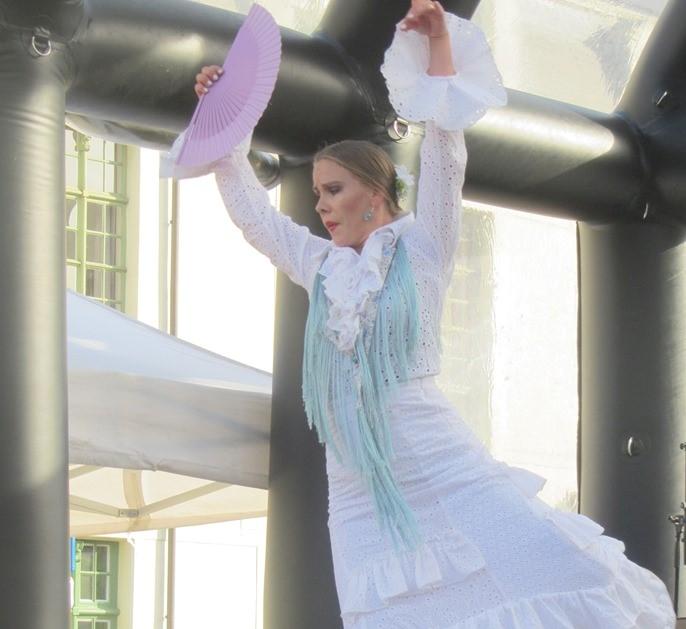 Flamenco aan Bisdomplein en Reep