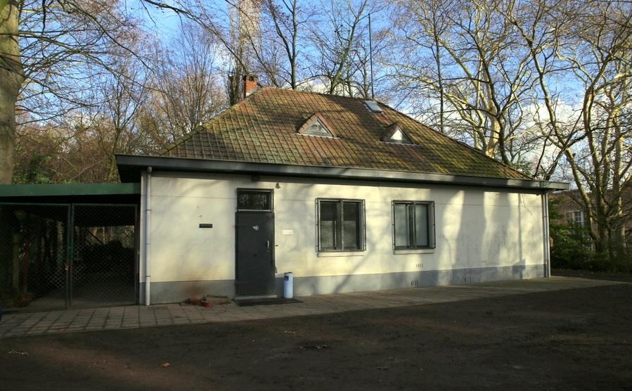 Théodore Canneelpad, Citadelpark – bunker