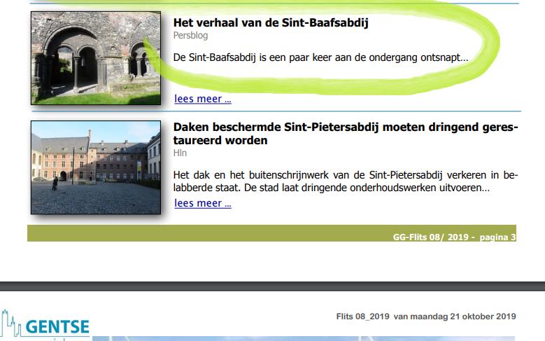 Het verhaal van de Sint-Baafsabdij