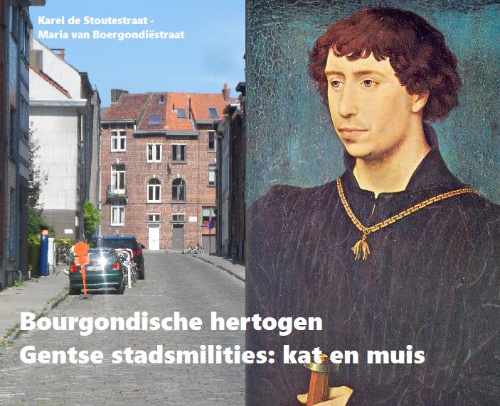 Bourgondische hertogen en Gentse stadsmilities: kat en muis
