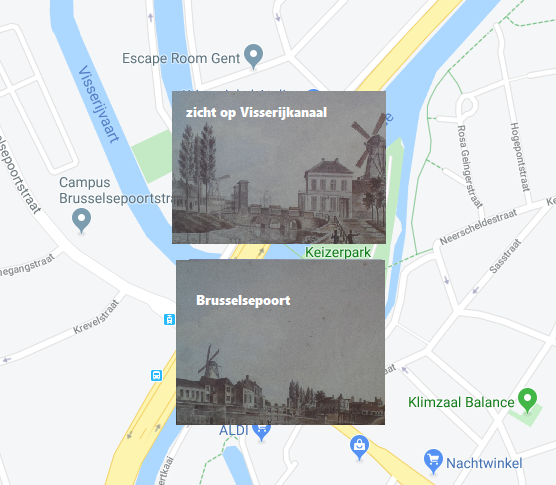 Brusselsepoort - toen