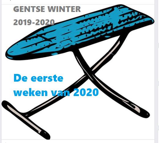 GENTSE WINTER – De eerste weken van 2020