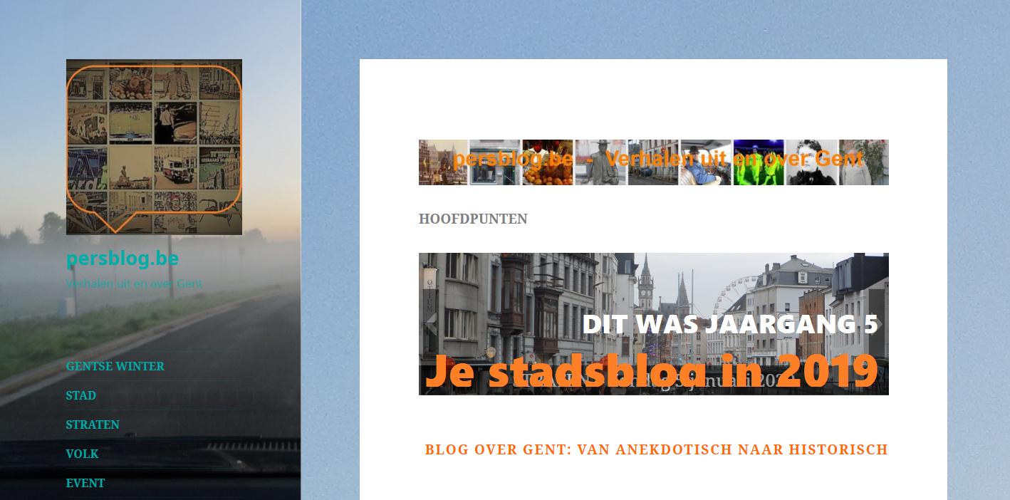 De stadsblog in 2019 - cijfers en commentaren