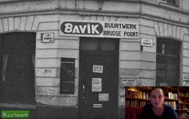 Brugse Poort: Krakers in de Jaren '90