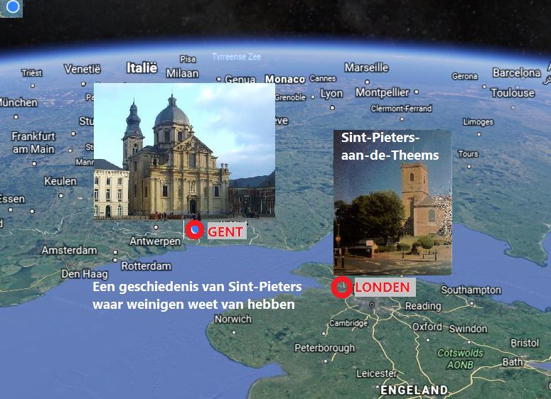 Sint-Pietersabdij had groot domein in Londen