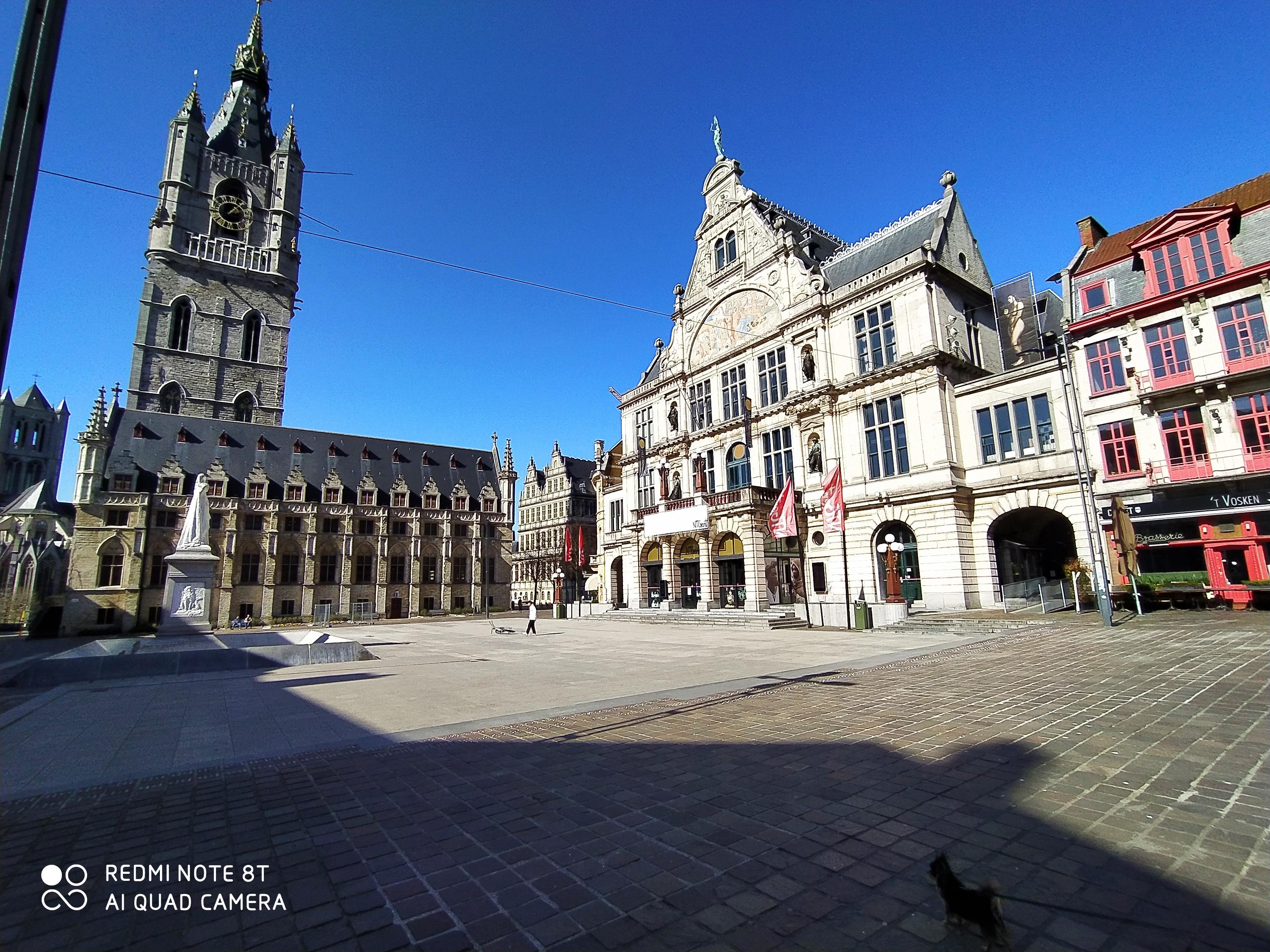Sint-Baafsplein - Belfort