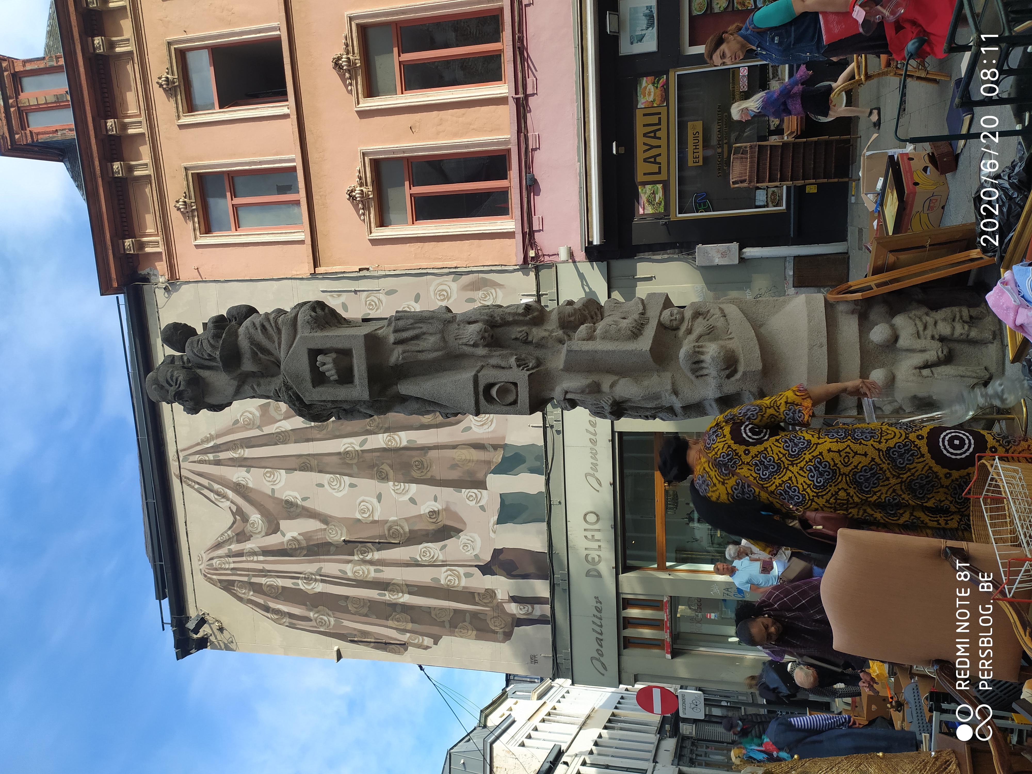 Bij Sint-Jacobs - Prondelmarkt - beeld Karel Waeri door Walter De Buck IMG_20200620_081104 (3)