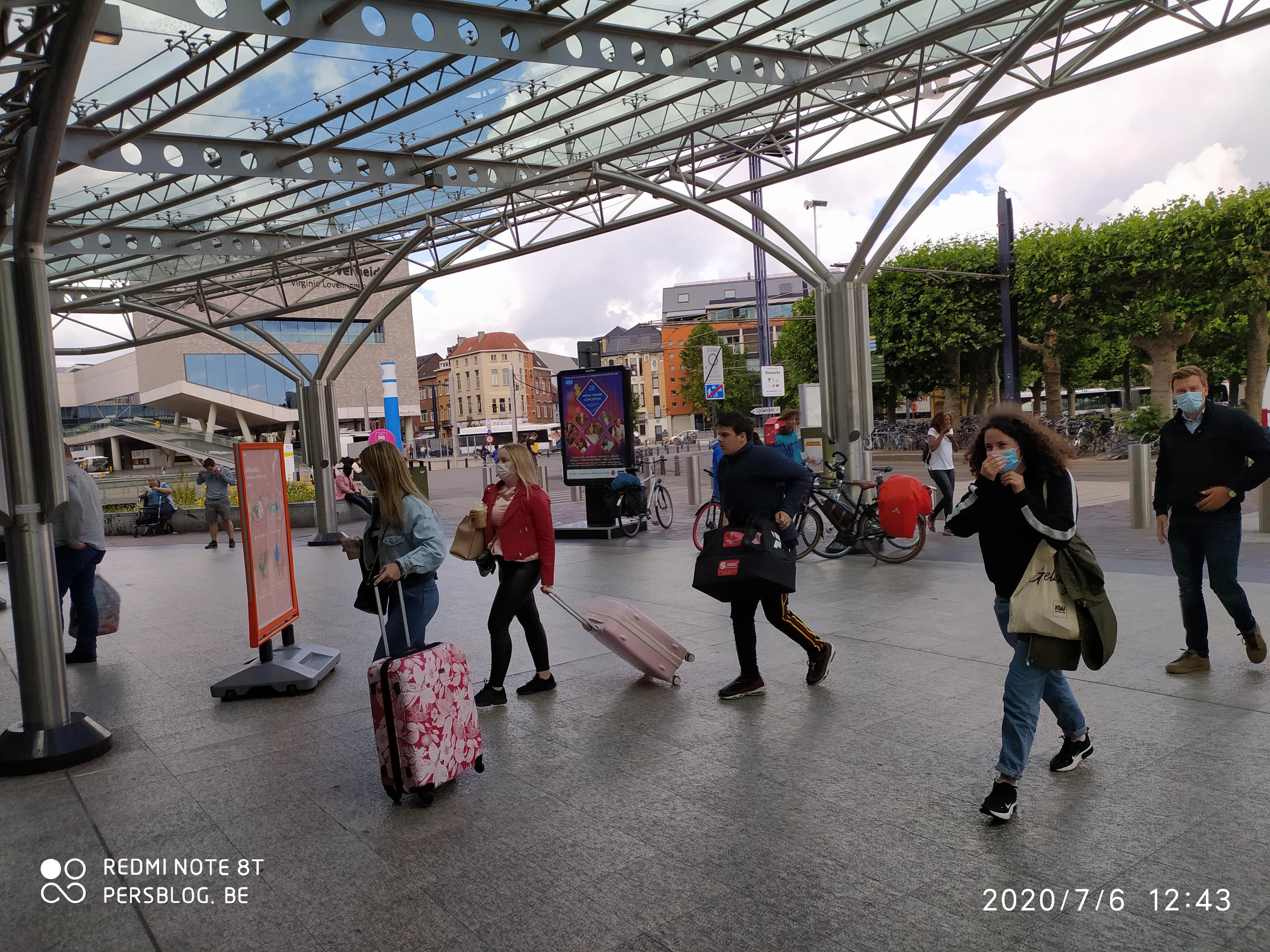 Koningin Maria Hendrikaplein - Station - Gent-Sint-Pieters op maandag 6 juli 2020 (13)