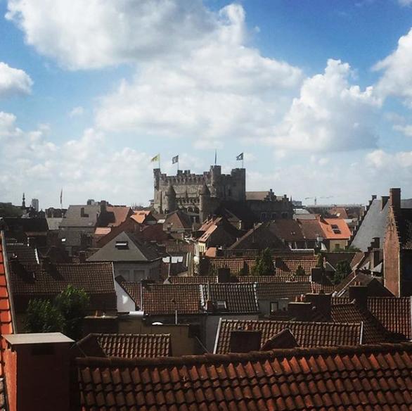 Beelden vanop Gentse daken