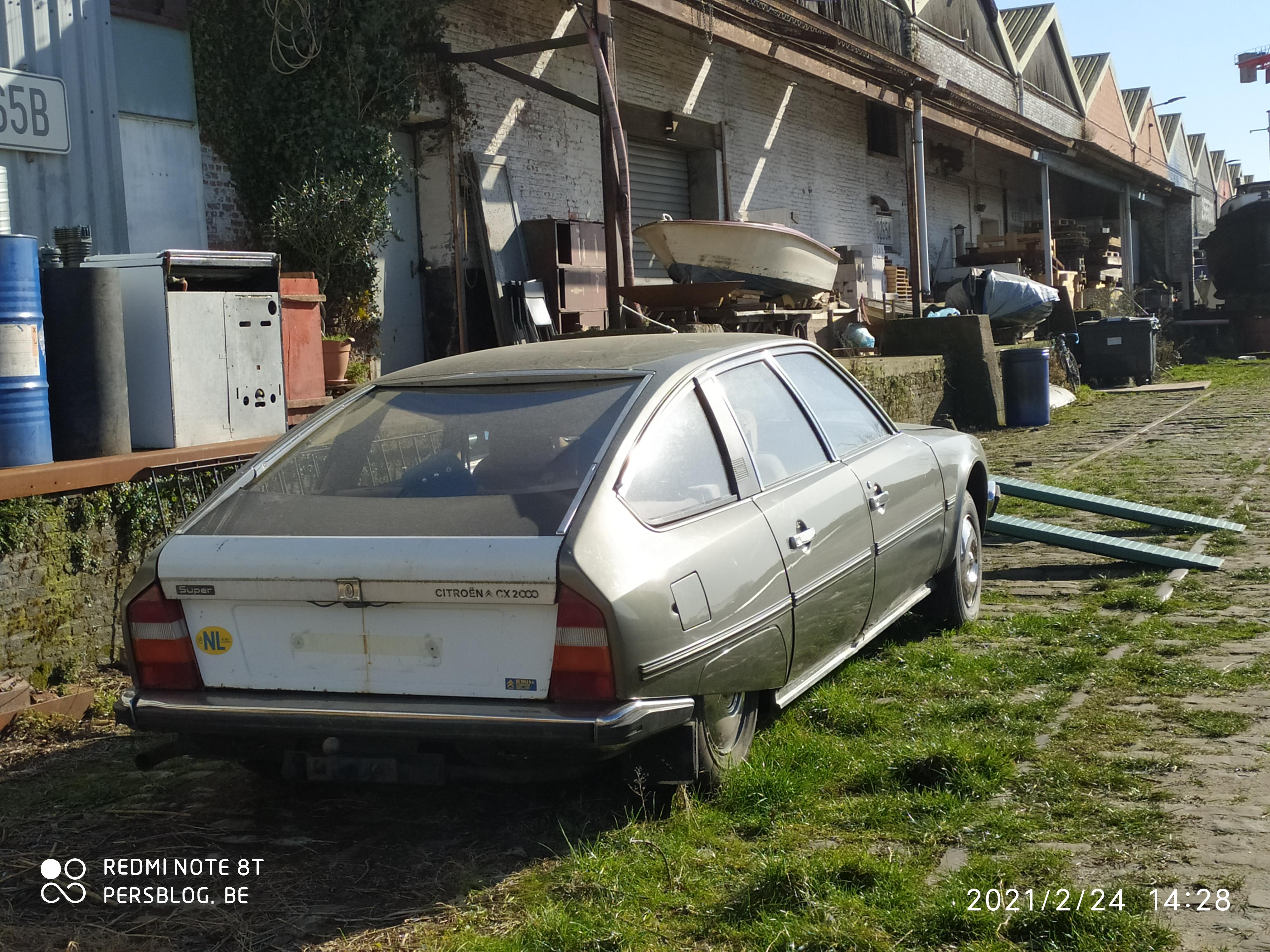 Voorhavenkaai - Citroën CX Super
