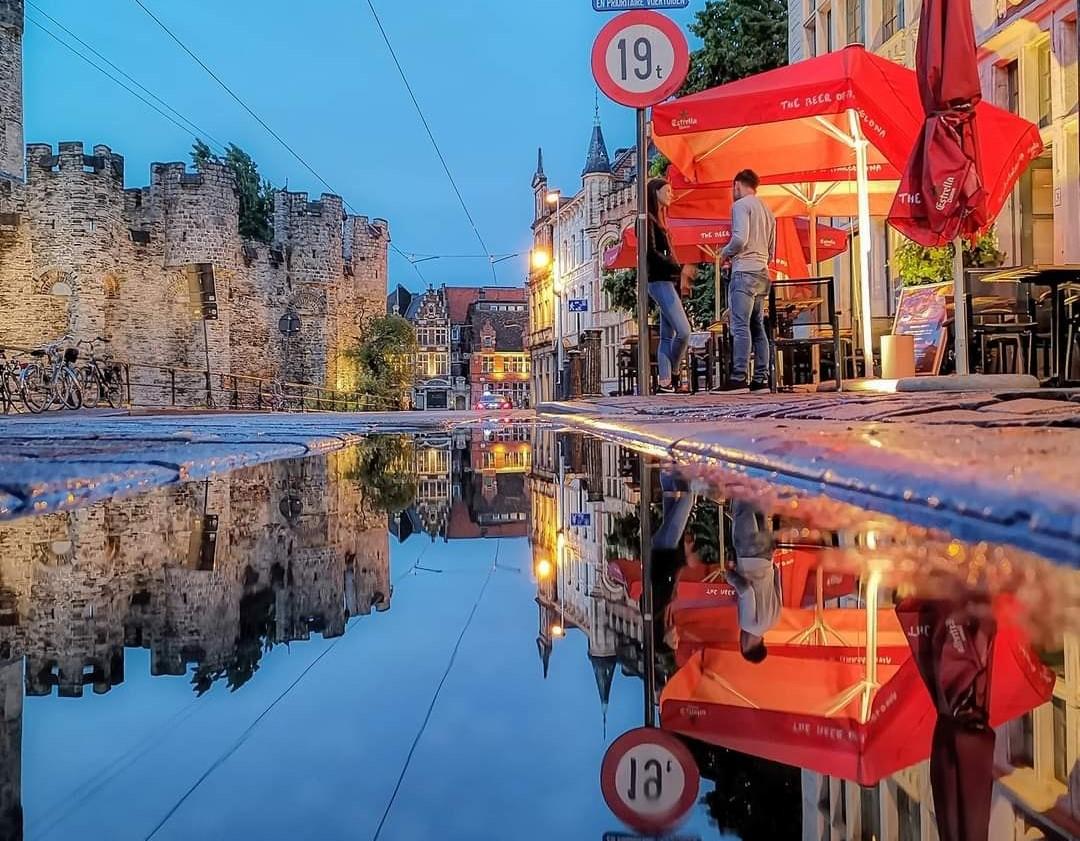 Hoe zou Gent er uitzien na milde overstromingen?