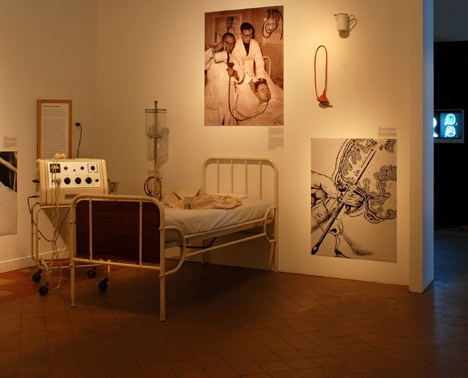 Kunstenaar woonde en werkte  in PC Dr Guislain