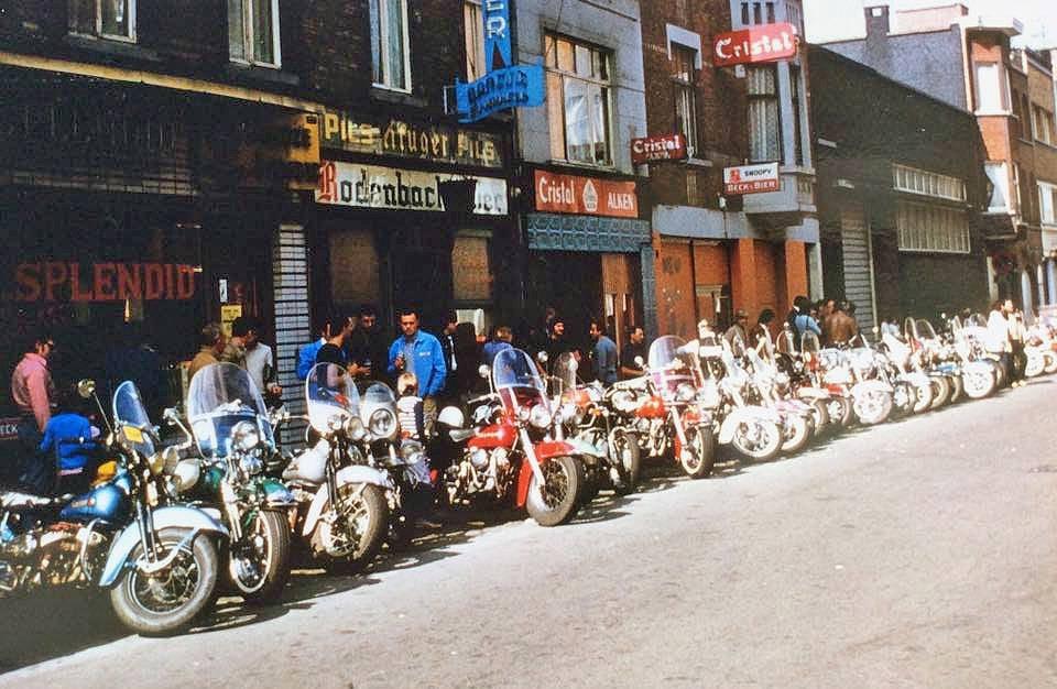 Het cafétijdperk aan de Boudewijnstraat