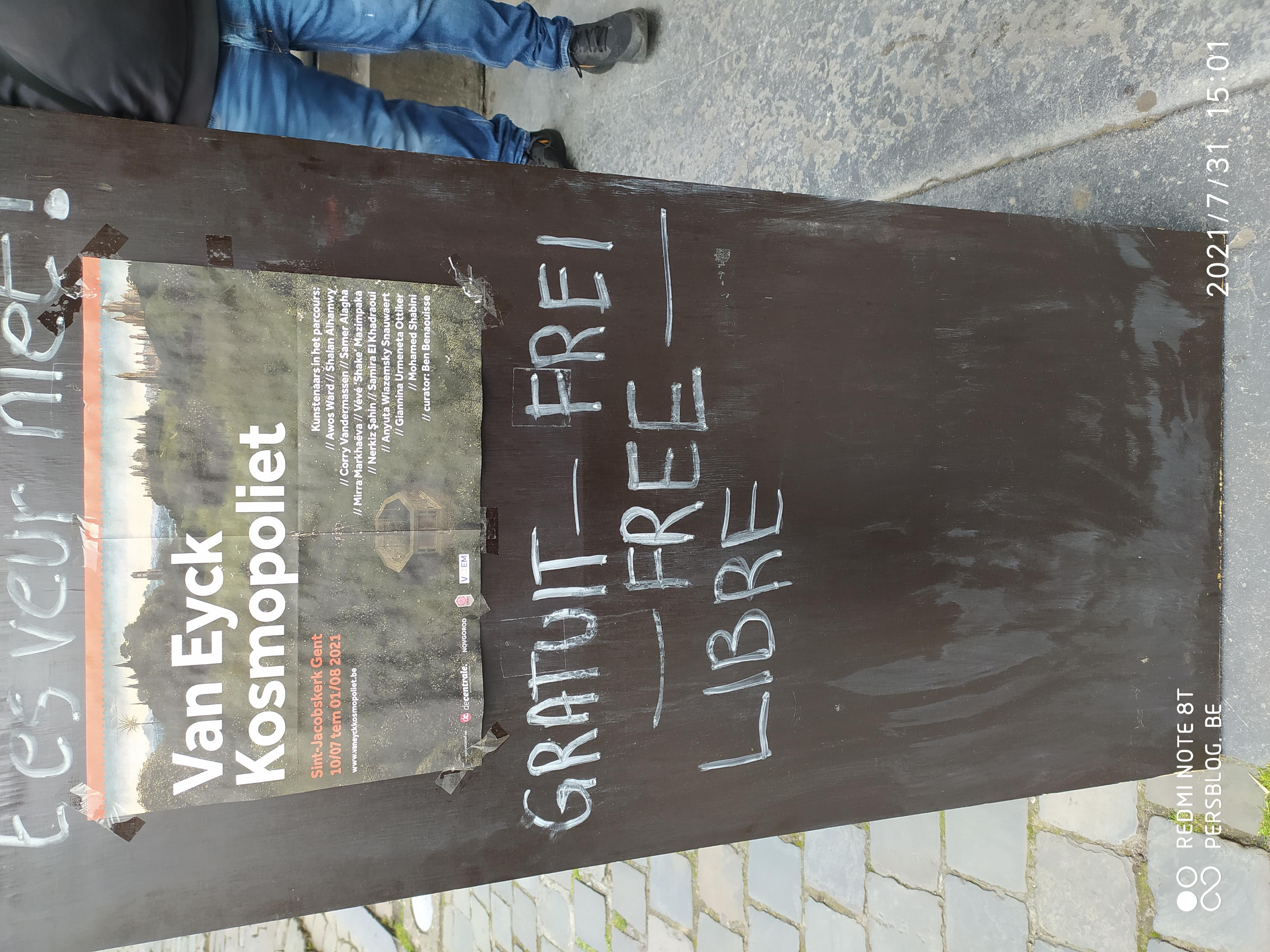 3 Bij Sint-Jacobs - Sint-Jacobskerk - kunstexpositie (1)