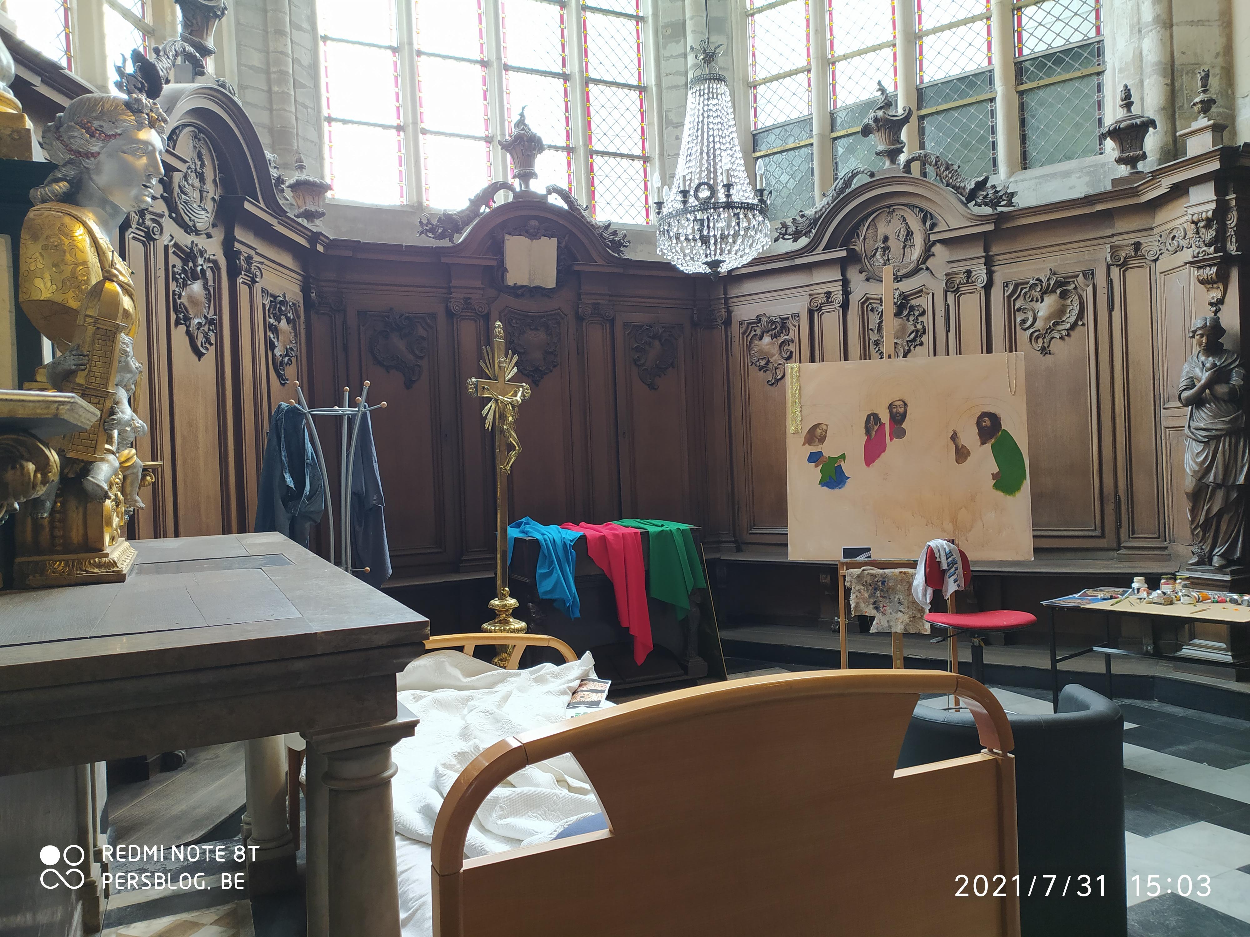 3 Bij Sint-Jacobs - Sint-Jacobskerk - kunstexpositie (4)